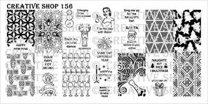 Creative Shop- Stamping Plate- 156
