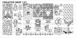 Creative Shop- Stamping Plate- 157