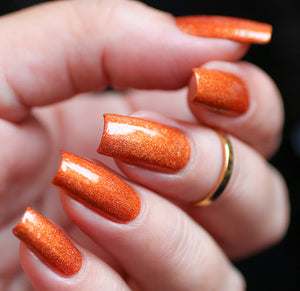Esmaltes da Kelly- Mario- Fire Flower
