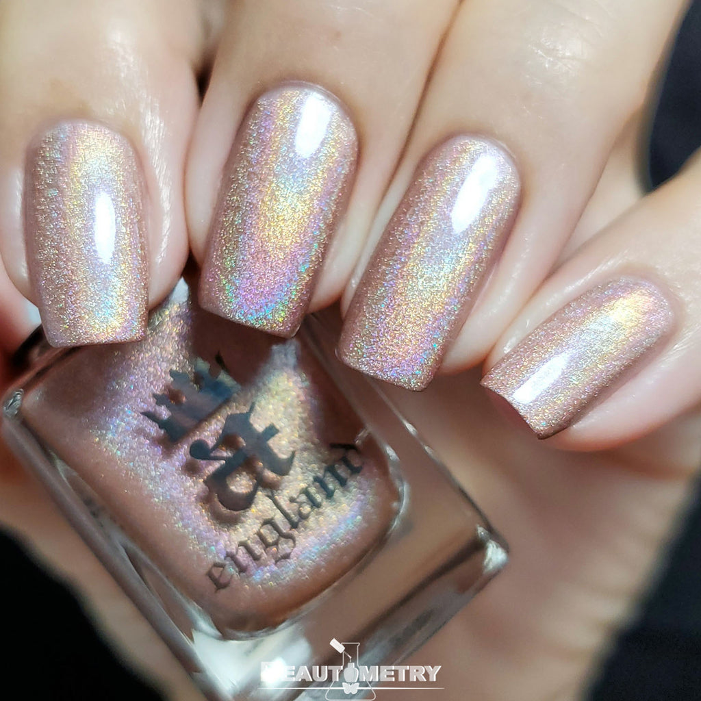 carnaby street holographic nail polish