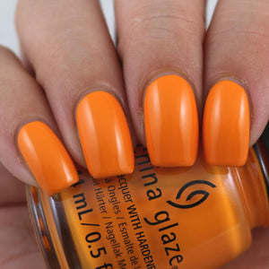 China Glaze- The Arrangement- Good as Marigold