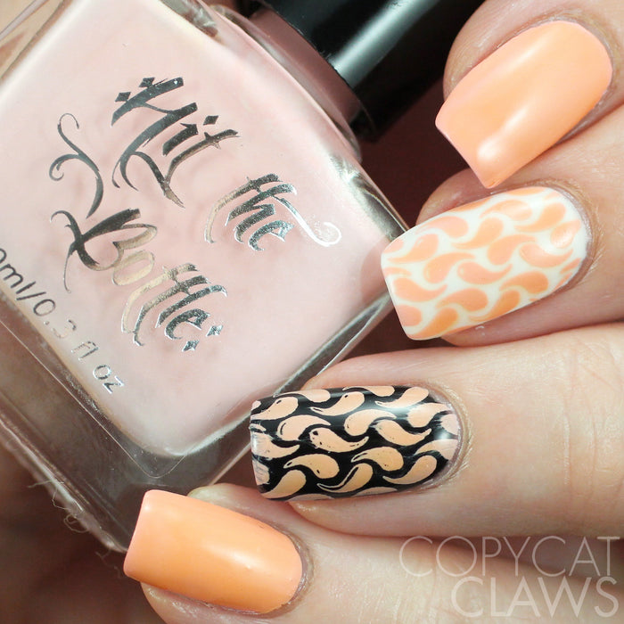 "Hit the Bottle ""Apricot Sour"" Stamping Polish"