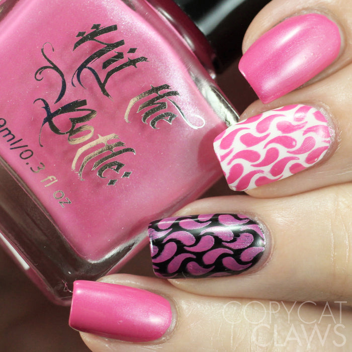 "Hit the Bottle ""Barbie Doll-Icious"" Stamping Polish"