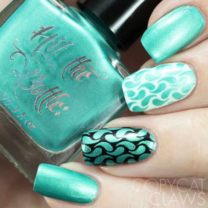 "Hit the Bottle ""Break the Icing"" Stamping Polish"