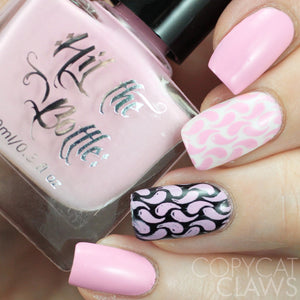 "Hit the Bottle ""Bubblegum Bliss"" Stamping Polish"