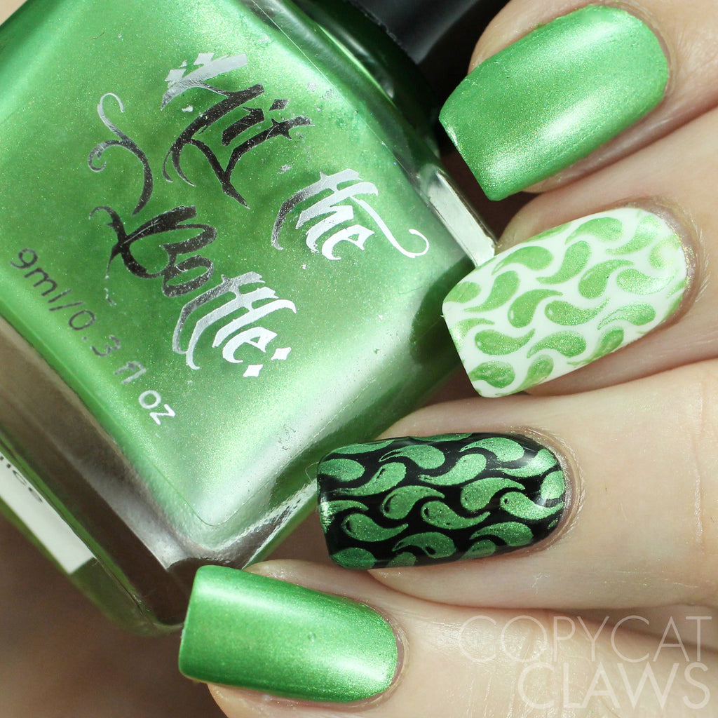 "Hit the Bottle ""Cactus Juice"" Stamping Polish"