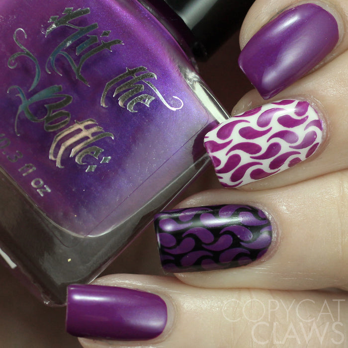 "Hit the Bottle ""Call a Plumber"" Stamping Polish"