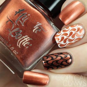 "Hit the Bottle ""Copper haired Girl"" Stamping Polish"