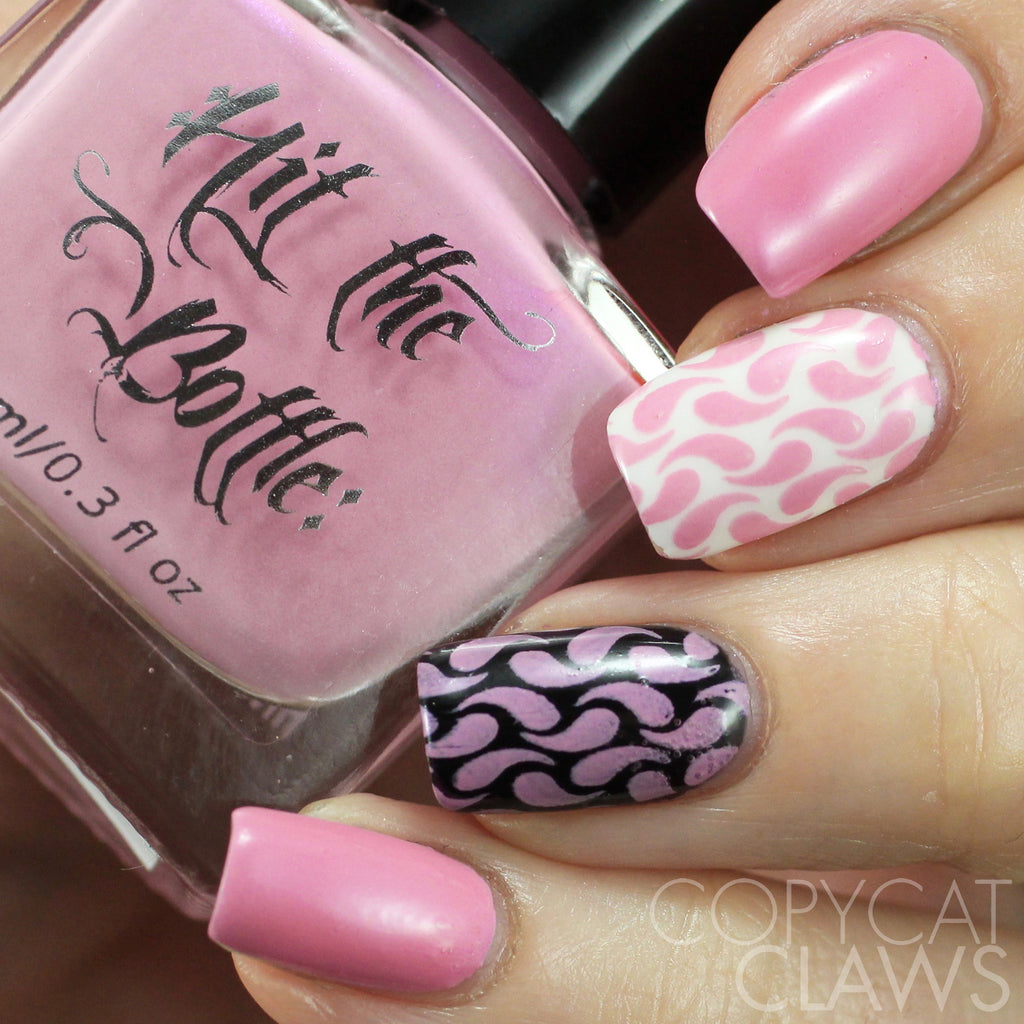"Hit the Bottle ""Drunk Tank Pink"" Stamping Polish"