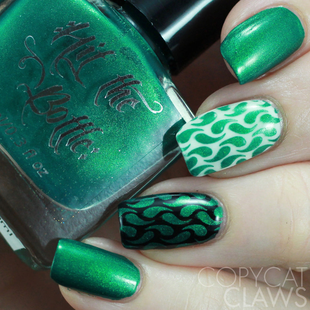 "Hit the Bottle ""Emeralds are Forever"" Stamping Polish"