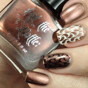 "Hit the Bottle ""Espresso Martini"" Stamping Polish"