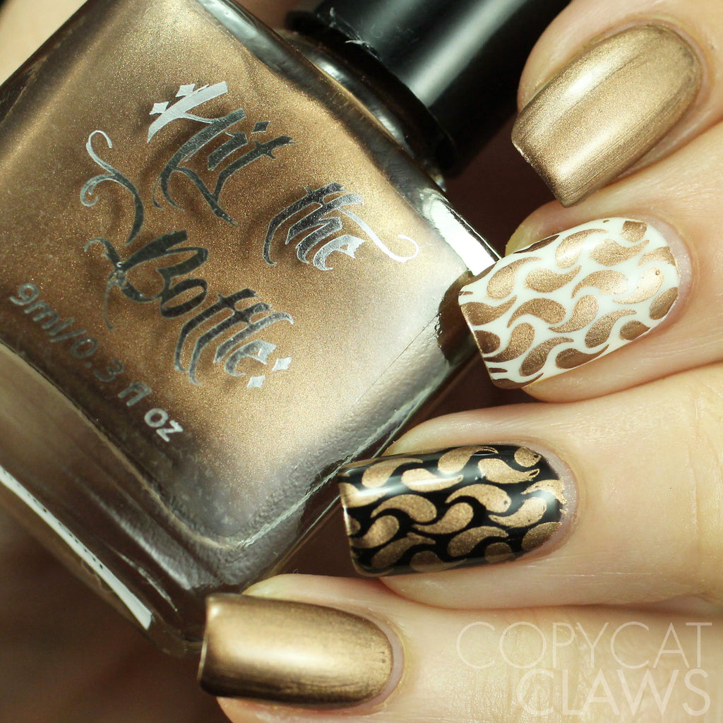 "Hit the Bottle ""Everyday I'm Truffling"" Stamping Polish"