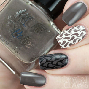 "Hit the Bottle ""From Beyond the Griege"" Stamping Polish"