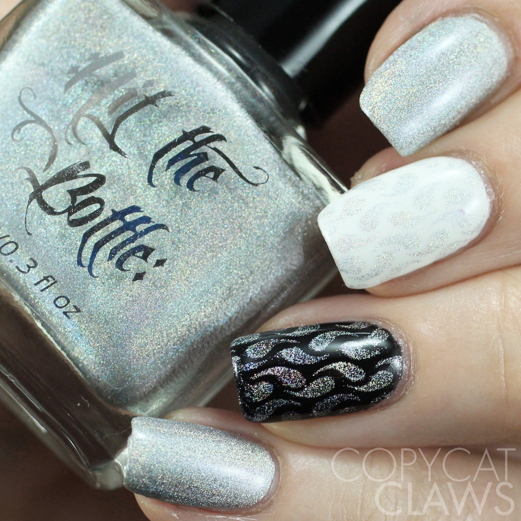 "Hit the Bottle ""Holo there Beautiful!"" Stamping Polish"