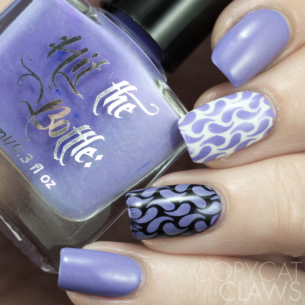 "Hit the Bottle ""I Lilac it Like That"" Stamping Polish"