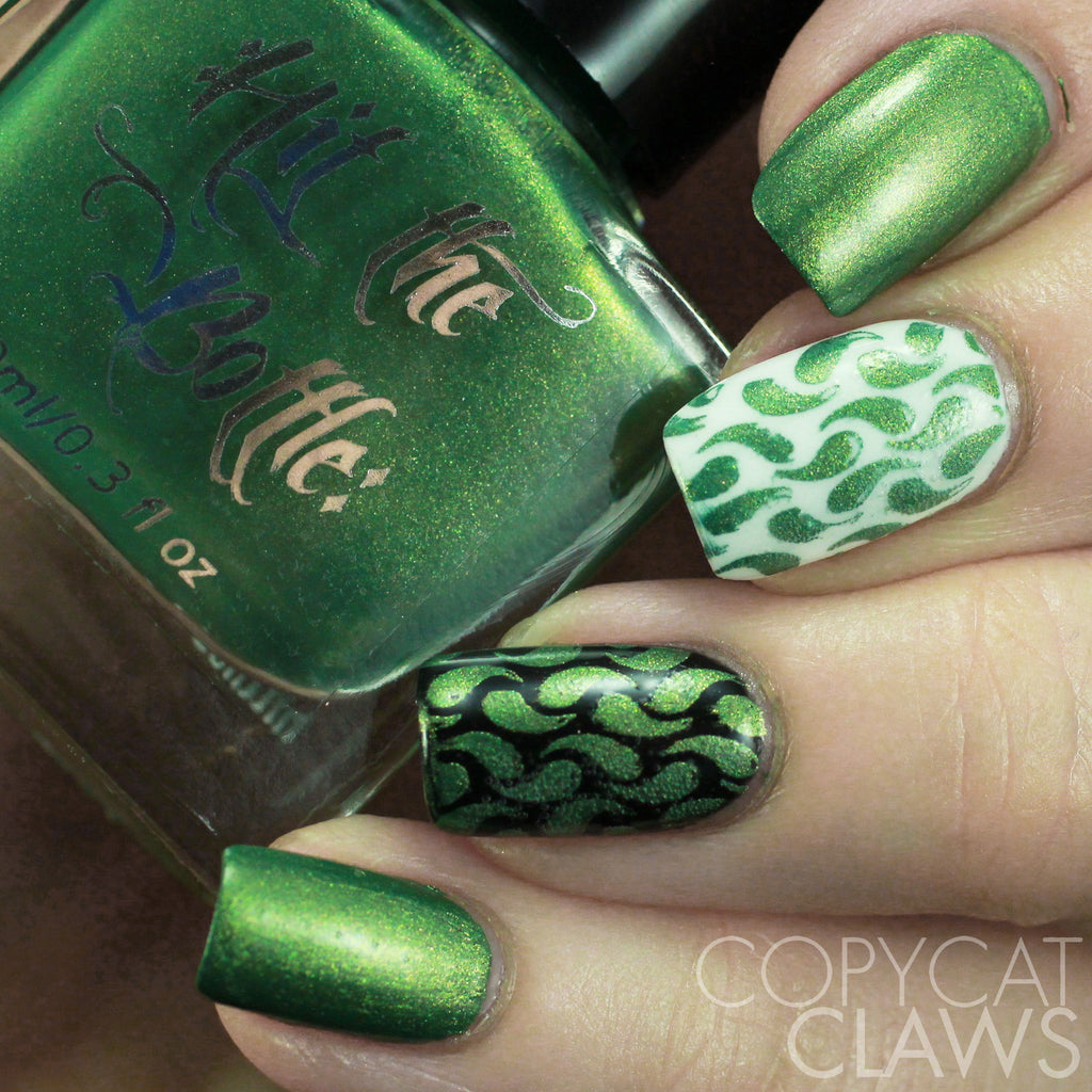 "Hit the Bottle ""It Mossed Be Love"" Stamping Polish"