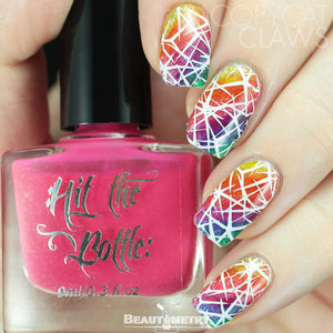 hit the bottle jelly shots nail polish nail art