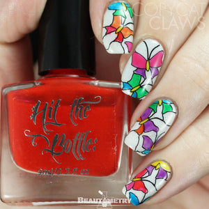 hit the bottle jelly nail polish lead lighting