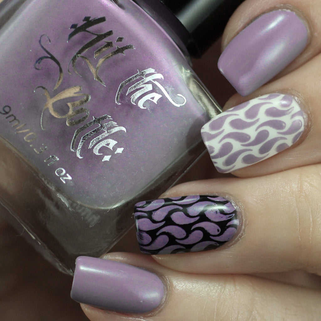 "Hit the Bottle ""Lavender Squall"" Stamping Polish"