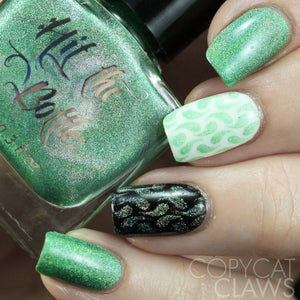 "Hit the Bottle ""Lucky Spark"" Stamping Polish"