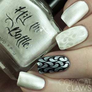 "Hit the Bottle ""Moonshine"" Stamping Polish"