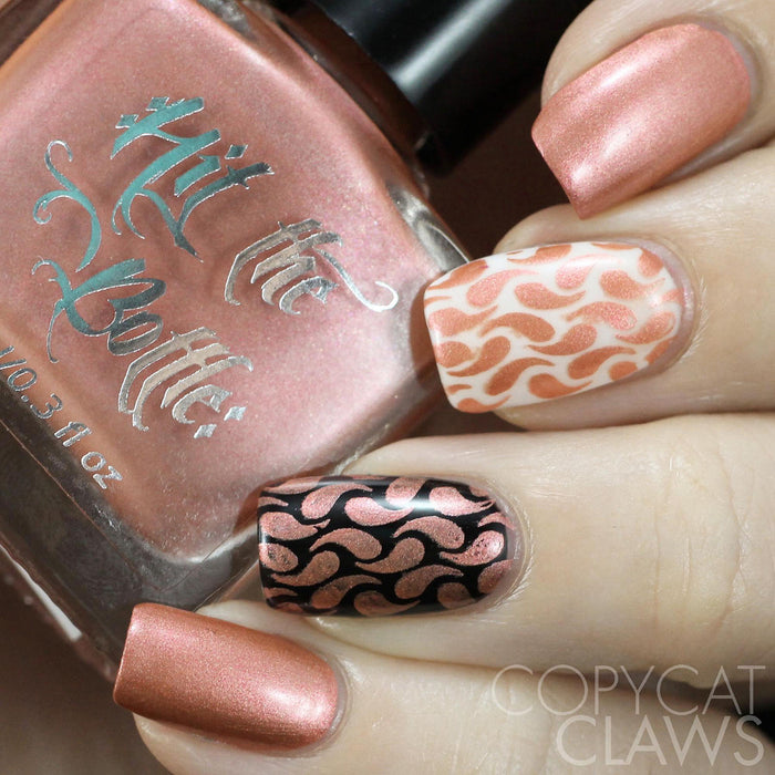 "Hit the Bottle ""Nectar of the Gods"" Stamping Polish"