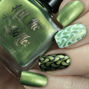 "Hit the Bottle ""On the Loose with Chartreuse"" LIMITED EDITION Stamping Polish"