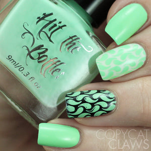 "Hit the Bottle ""Peppermint Zombie"" Stamping Polish"