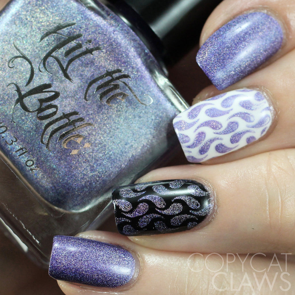 "Hit the Bottle ""Prismatic Purple"" Stamping Polish"