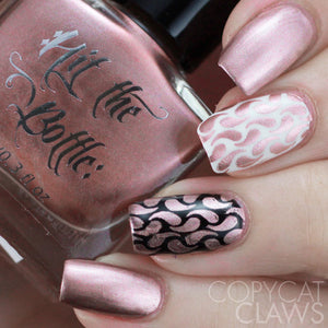 "Hit the Bottle ""Roseglow Gold"" Stamping Polish"