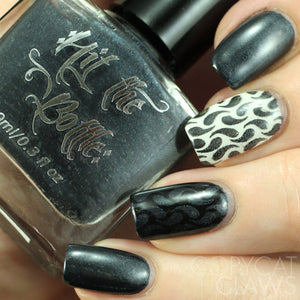 "Hit the Bottle ""Shadows of Darkness"" Stamping Polish"