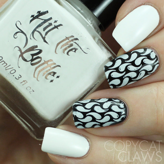 "Hit the Bottle ""Snowed In"" Stamping Polish"