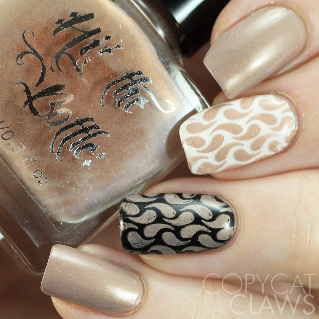 "Hit the Bottle ""Taupe-lessy Devoted"" Stamping Polish"