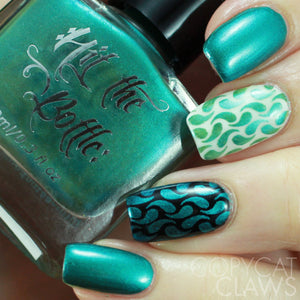 "Hit the Bottle ""Teal-riffic"" Stamping Polish"
