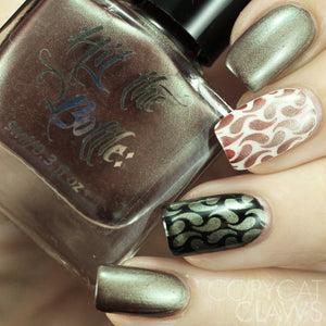 "Hit the Bottle ""The Drunken Elf"" Stamping Polish"