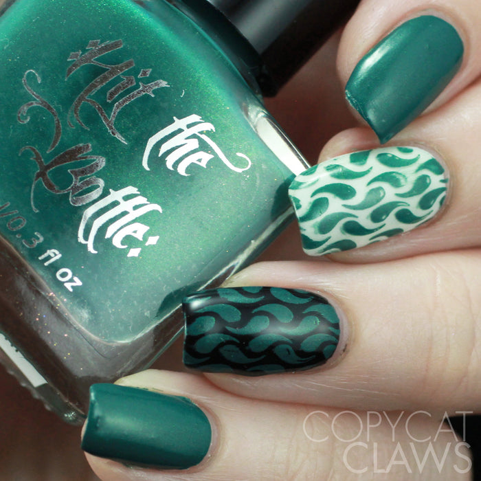 "Hit the Bottle ""The Huntress Awaits"" Stamping Polish"