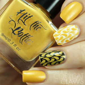 "Hit the Bottle ""The Yolk is on You"" Stamping Polish"