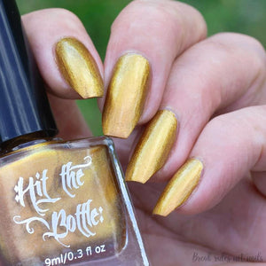 "Hit the Bottle ""Magna Opus"" Stamping Polish"