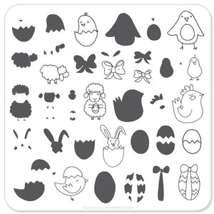 Clear Jelly Stamper- H-08- Easter 3