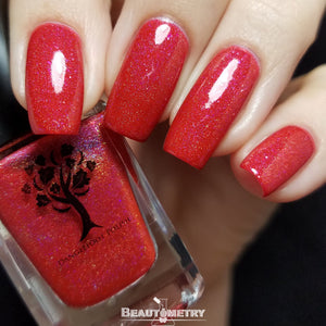 burning up the sun jelly nail polish