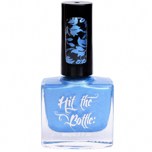 "Hit the Bottle ""Jack Frosting"" Stamping Polish"