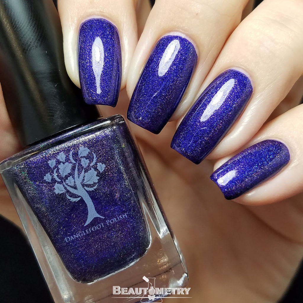 purple holographic nail polish just cant seem to miss