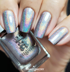 kings road holographic nail polish