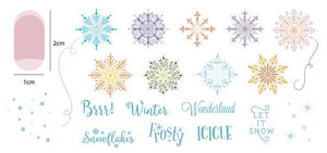 Clear Jelly Stamper- C-18- Let it Snow