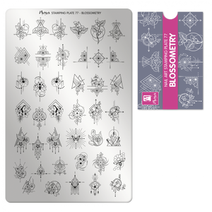 Moyra Stamping Plate 77- Blossometry