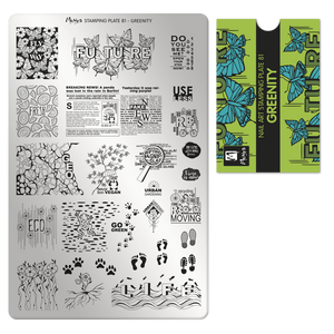 Moyra Stamping Plate 81- Greenity