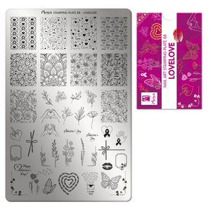 Moyra Stamping Plate 88- LoveLove