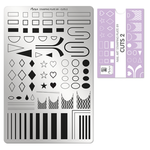 Moyra Stamping Plate 89- Cuts 2