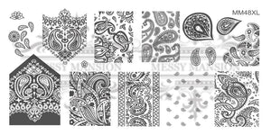 Messy Mansion MM Series XL Stamping Plates XL48