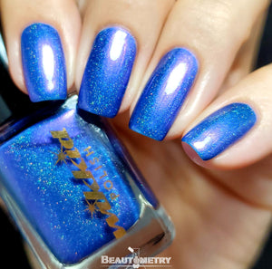 phosphorous holographic nail polish